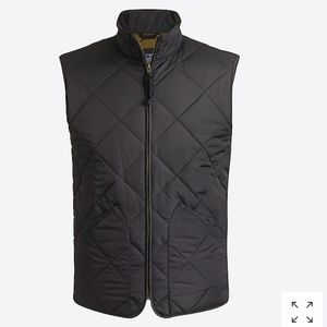 J.CREW Men's Black Mercantile Walker Vest